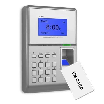 Cross-Station TC550 - биометрический терминал учета рабочего времени